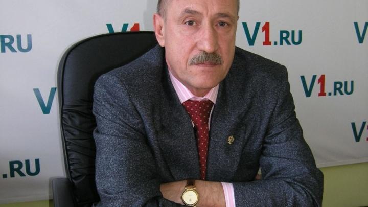 Глава волгоградской КСП Гордин покинет свой пост в конце апреля