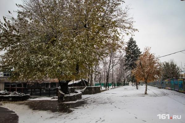 В ближайшие дни в Ростовской области обещают снегопад