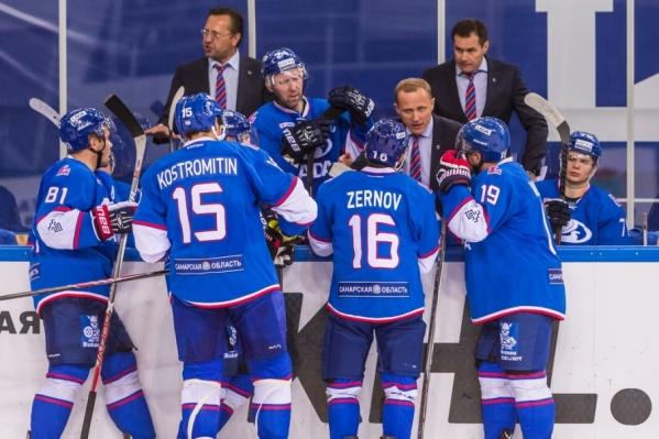 Команда стартует в сезоне КХЛ с матча против «Трактора»