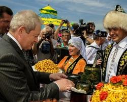 Виктор Басаргин открыл Сабантуй-2016
