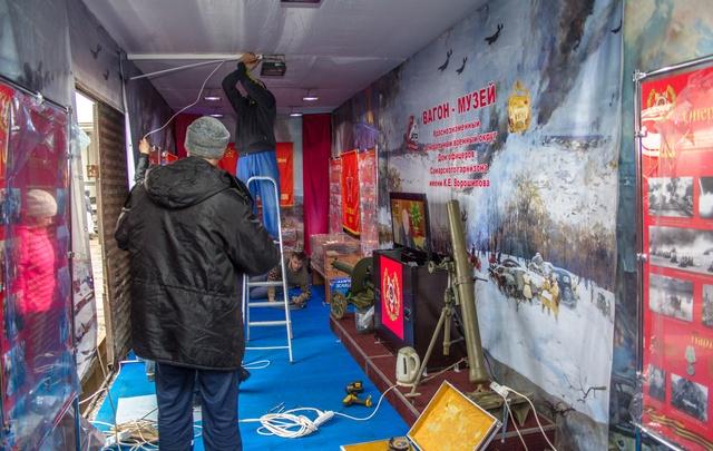«Крымский щит», орден Победы и БТР – Самара снарядила вагон для «Поезда Победы»