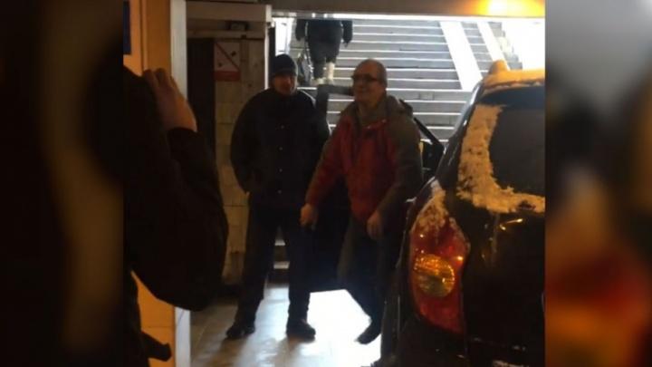 Ярославец на кроссовере въехал в метро в Санкт-Петербурге и устроил скандал