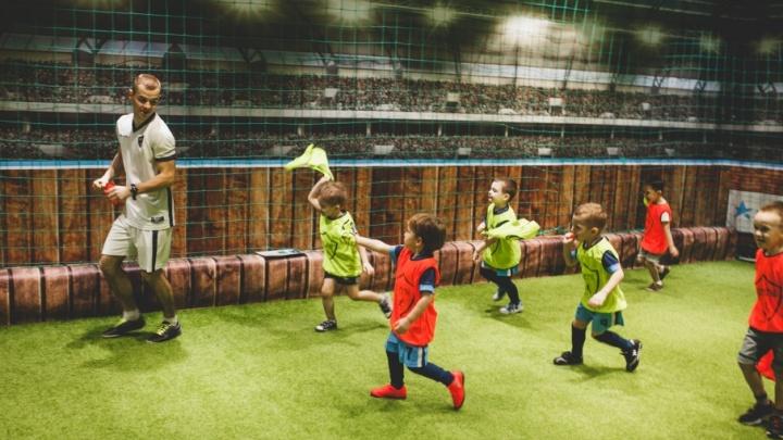 В Самаре работает футбольная школа с удобным расписанием для детей и родителей