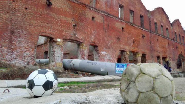 Ростовские общественники провели на Парамонах выставку, раскритиковавшую ЧМ-2018