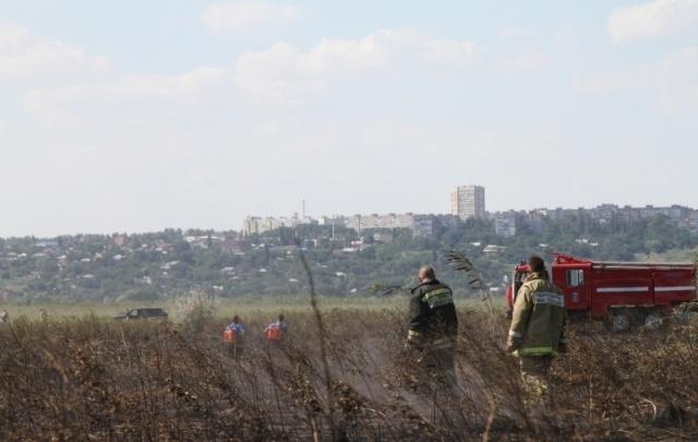 Ростов занял первое место в области по площади возгораний сухой травы