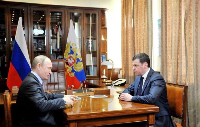 Сегодня новый ярославский губернатор встретится с президентом