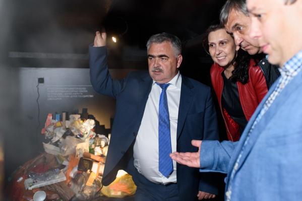 Ростовским чиновникам показали выставку «Ноль отходов»
