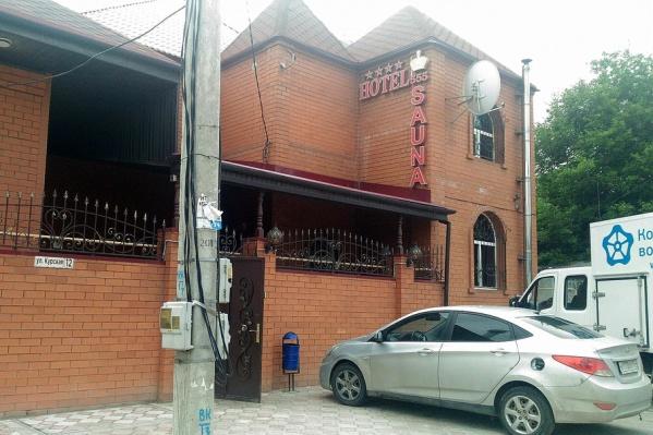 Гостиница и сауна на Курской делали вид, что потребляют воду, как обычный жилой коттедж