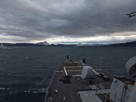 Официальная страница USS Carney/Facebook.com