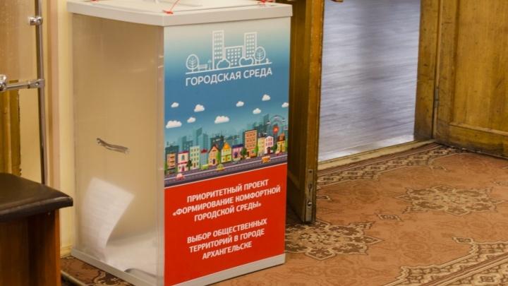 Долой паспорта: в Архангельске упростили правила голосования за проекты комфортной городской среды