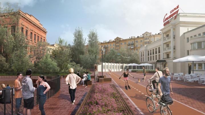 Центр Волгограда собираются сделать пешеходным
