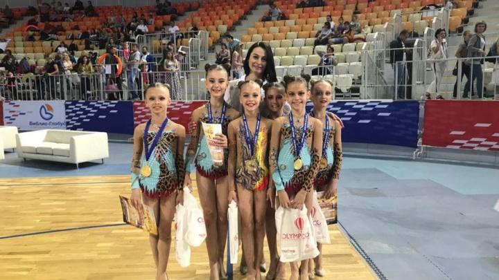 Они покорили Сочи: ростовские гимнастки вернулись домой с победой