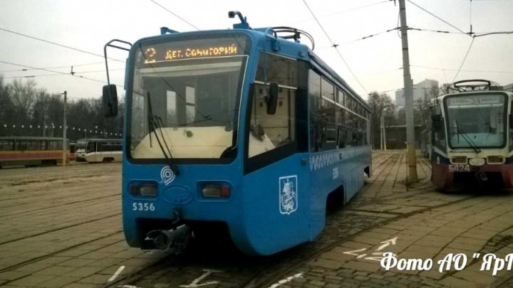 Ярославские инженеры оценили б/у трамваи, которые подарит нам Москва