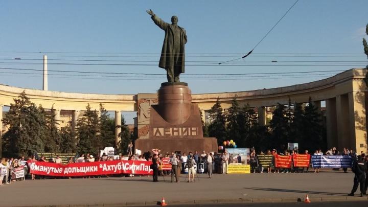 Обманутые дольщики четырех недостроев выйдут на митинг в Волгограде