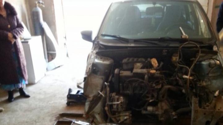 В Самаре вор угнал автомобиль и отправил его на металлолом