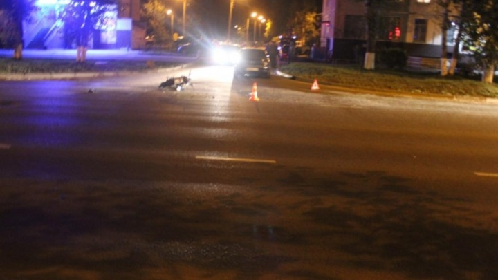 В Северодвинске водитель «Фольксвагена» сбил 16-летнего мотоциклиста