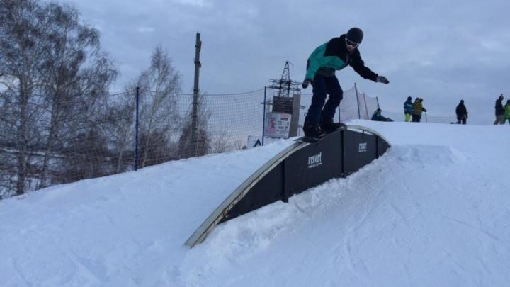 В декабре состоится открытый кубок Тюменской области по сноуборду