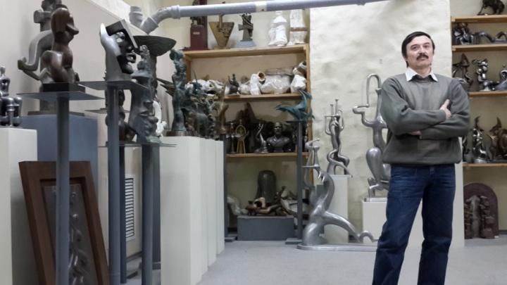 Волгоградцам покажут выставку-мечту Сергея Щербакова