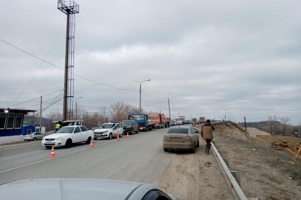 Обстановка на Сокском мосту
