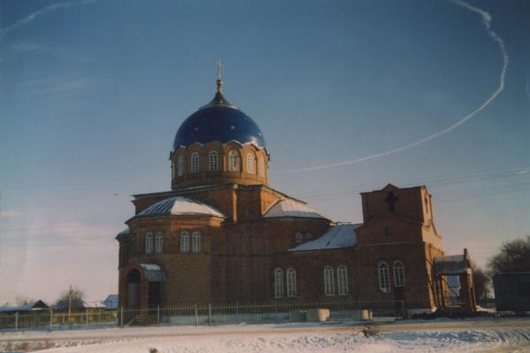 Церковь построили вXIX веке