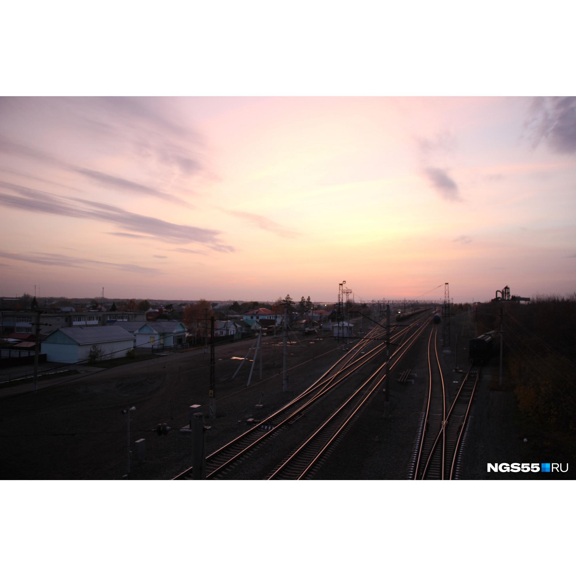 С железной дороги началось развитие Калачинска