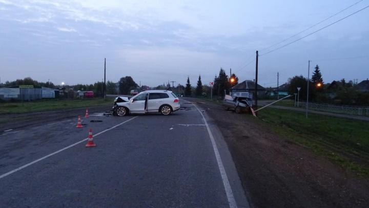 Пьяный водитель устроил ДТП с пострадавшими на трассе Ленинск-Кузнецкий — Новокузнецк