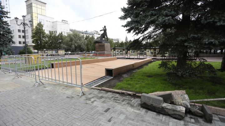 На Кировке установят камни времени, велопарковки и новые киоски