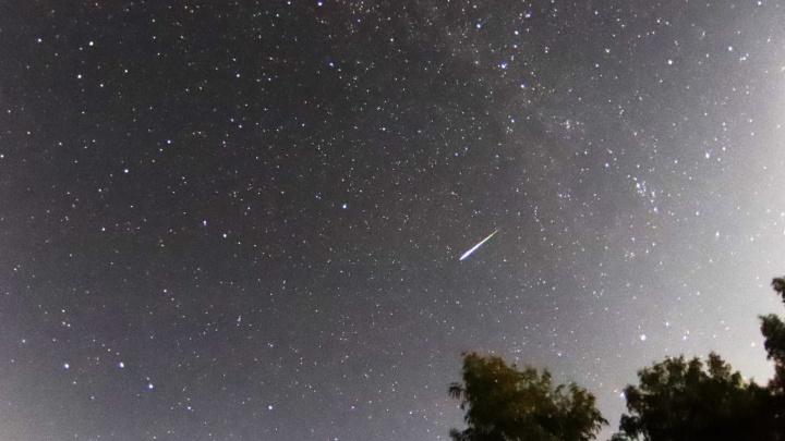 Загадываем желания: появились снимки потока метеоров в омском небе