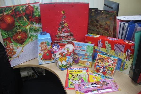 Сбор подарков осуществлялся через специальный ящик