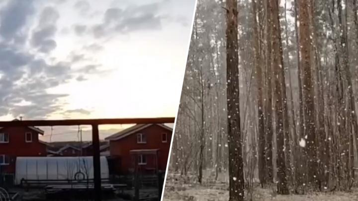 Видео дня. Снежный день в Нижнем Новгороде за 25 секунд