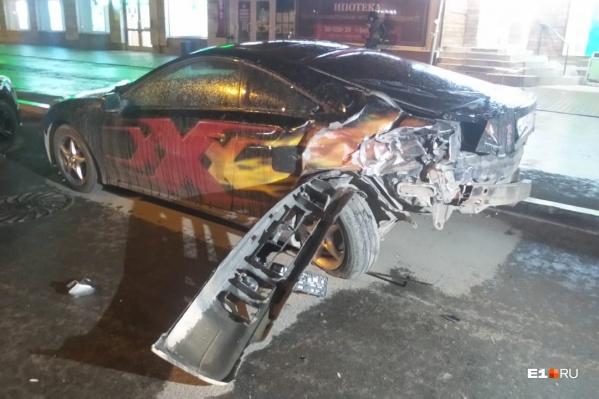Всего пострадали четыре автомобиля