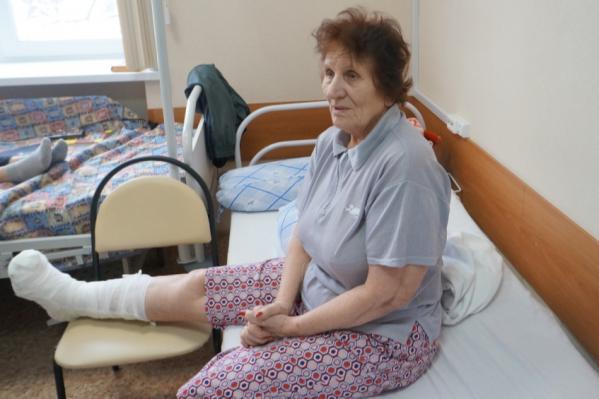 Валентина СерафимовнаКаркодимова — жена ветерана-танкиста, воевавшего на Курской дуге