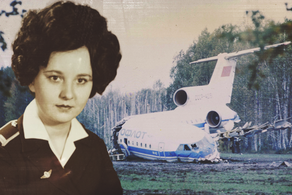 В ночь авиакатастрофы Татьяна Сухачева одной из первых была на месте и оказывала помощь раненым