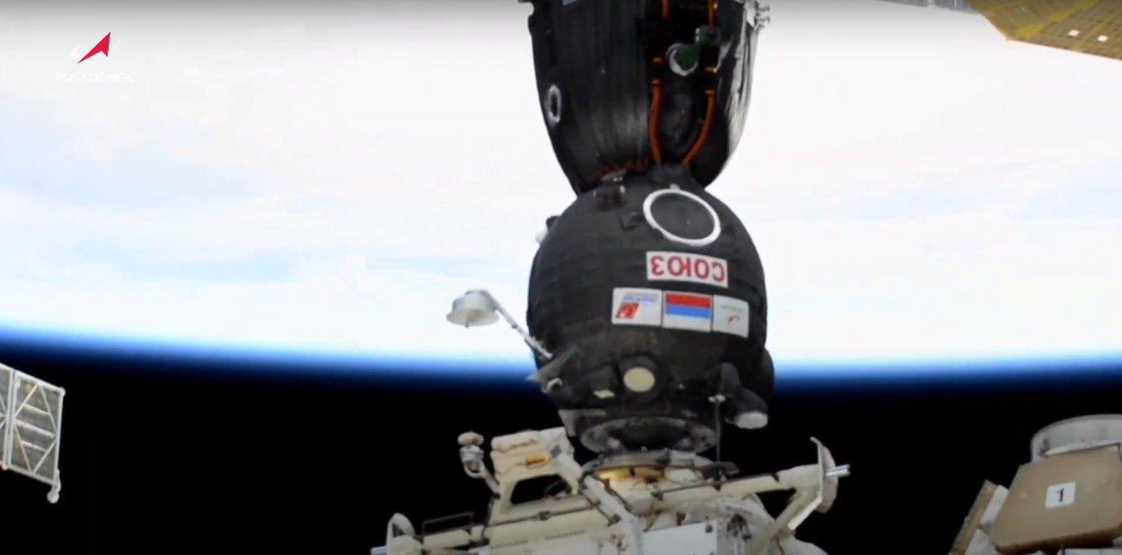 Кадр из видеоРоскосмос ТВ