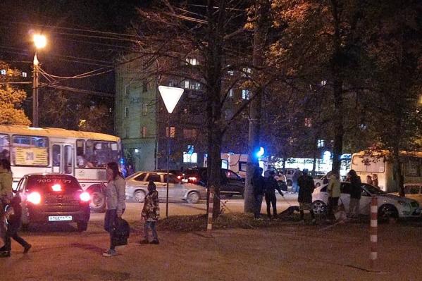 Мальчика сбили недалеко от пересечения улиц Гагарина и Новороссийской