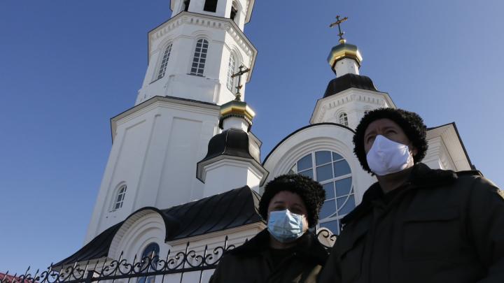«Я до церкви и обратно»: почему в Вербное воскресенье верующие Архангельска не остались дома