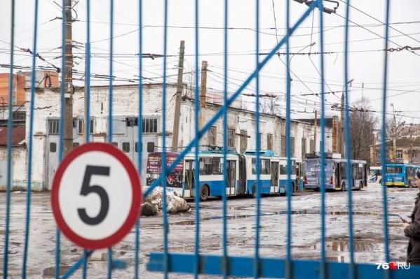 Расформировывать троллейбусное депо на Горвалу будут долго, а переезд встанет дорого