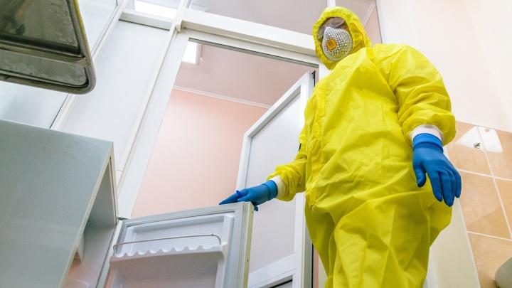 Из-за коронавирусных больных в туберкулёзной больнице все передачи стали передавать через спецшлюз