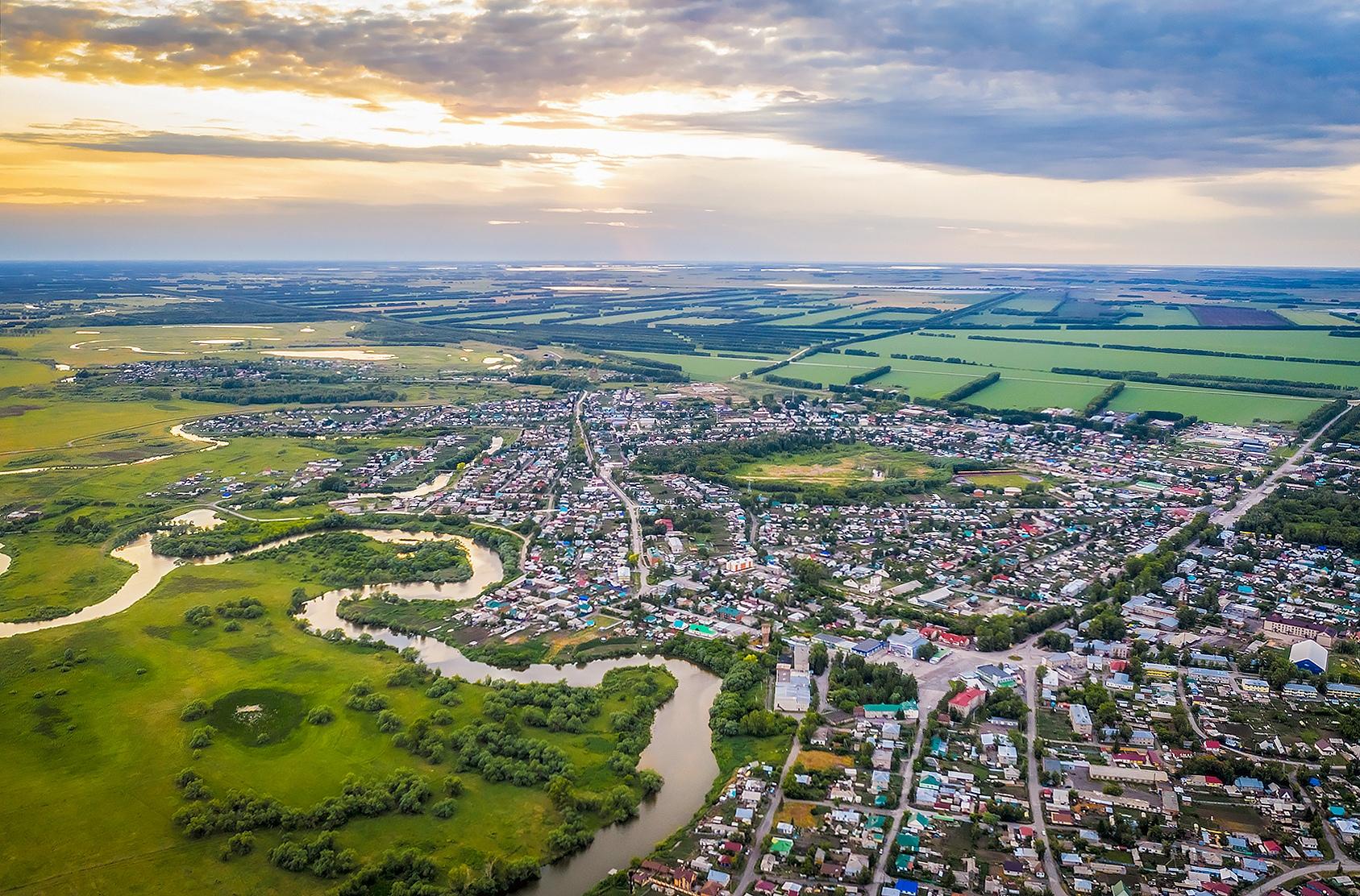 Краснозёрское основано в 1773 году под названием Карасукское