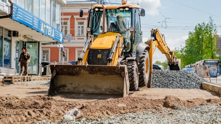 В Перми на ночь будут перекрывать движение по части Комсомольского проспекта