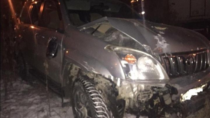 На Карла Маркса водитель «Прадо» без прав сбил женщину-пешехода