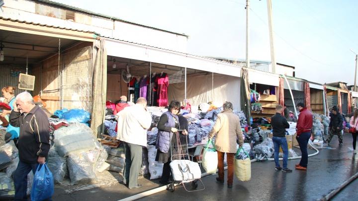 В Ростове начали сносить рынок «Темерник»