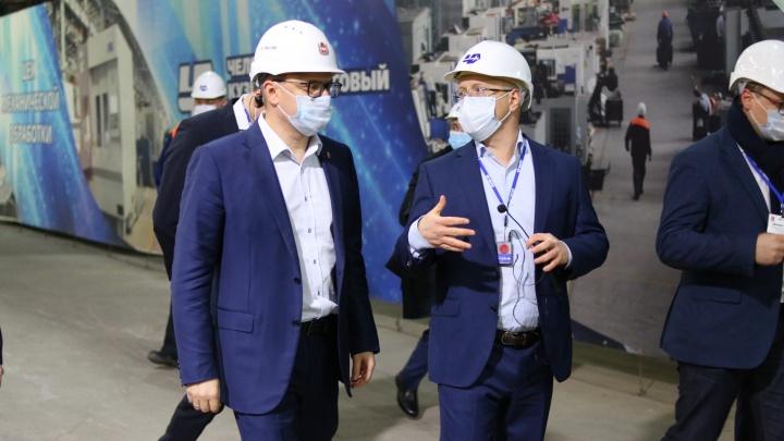 Челябинский кузнечно-прессовый завод представил региону промышленных роботов