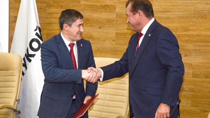 Нефтяники подписали Дорожную карту по развитию промышленности в Пермском крае