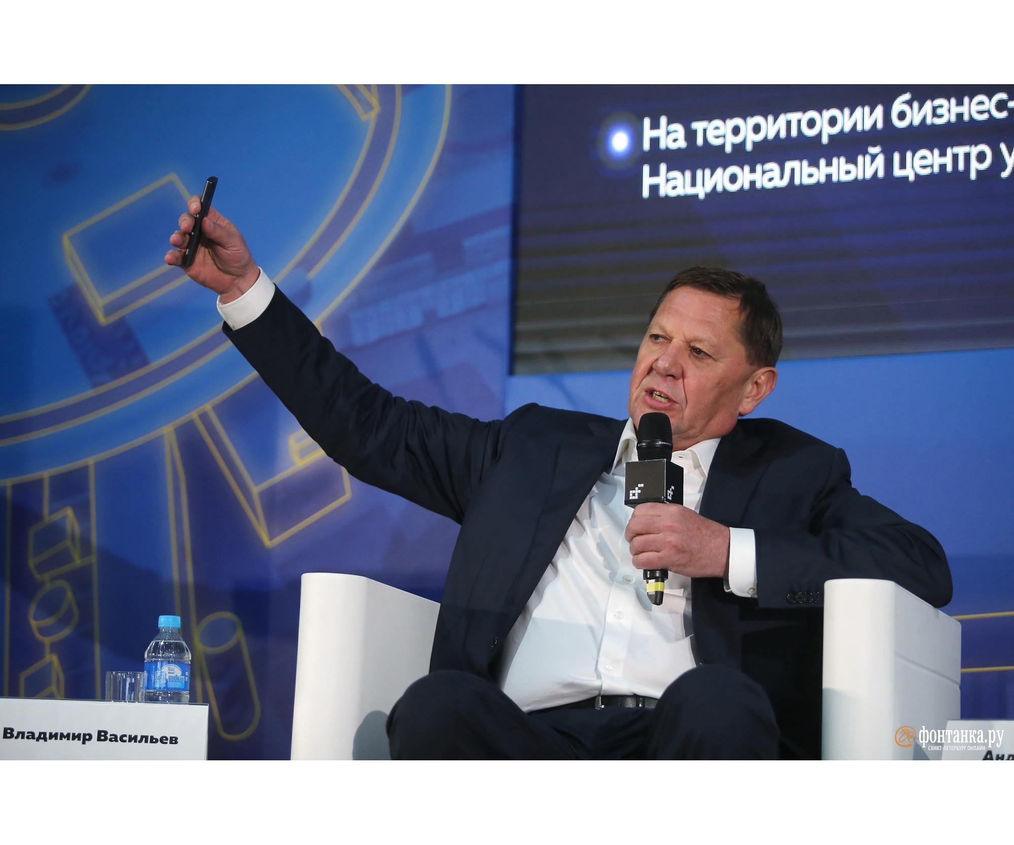 Ректор ИТМО Владимир Васильев