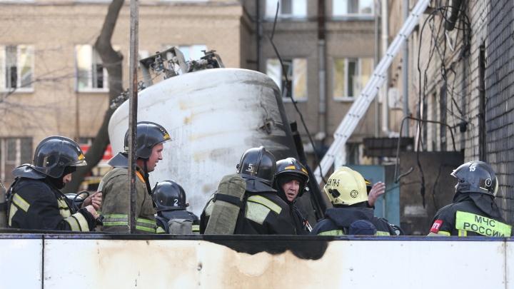 В Челябинске ввели режим ЧС после взрыва в ковидном госпитале