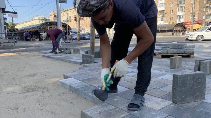 Еще больше плитки: когда завершат ремонт улицы Победы в Самаре