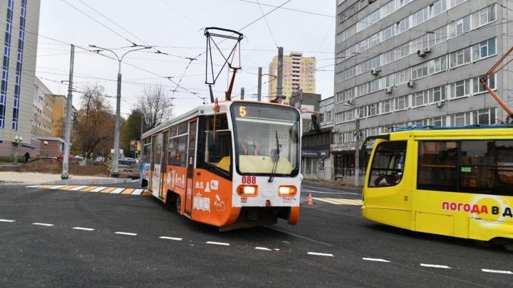 В Перми открылось движение на перекрестке Революции и Куйбышева. Фото
