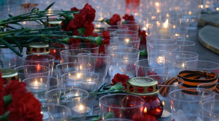 В Зауралье из-за коронавируса акцию «Свеча памяти» провели в новом формате