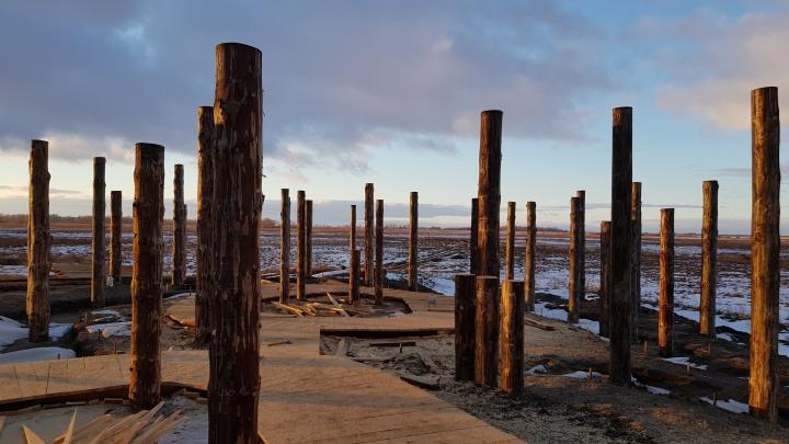 В Курганской области завершают реконструкцию культового места Савин-1